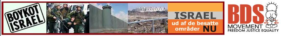 Boykot Israel  - Frit Palæstina