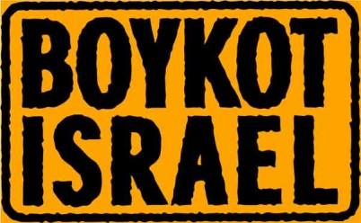 Boykot Israel Kampagnens mærkat Logo