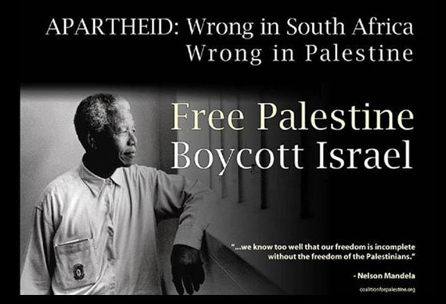 Apartheid: Wrong in South Africa - Wrong in Palestine - Mandela