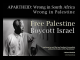 Apartheid: Wrong in South Africa - Wrong in Palestine - Mandela