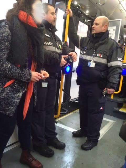 G4S UD AF VORE BUSSER! Her den 1. februar 2016 bus linie 3A i København