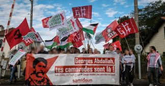 Paris Nakba demo 2021